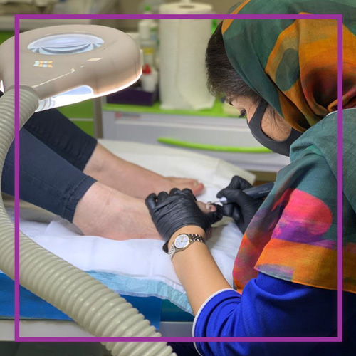 کلینیک درمان ناخن